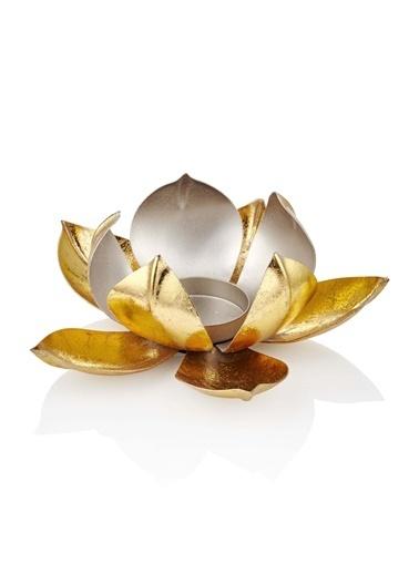 The Mia Sehpa Dekoru Mumluk Altın